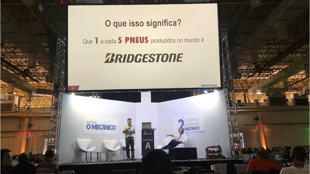 Bridgestone Participates in the Brazilian Congress of the Mechanic