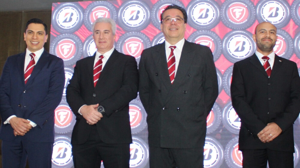 Bridgestone leaders launch new tire sizes in Latin American markets