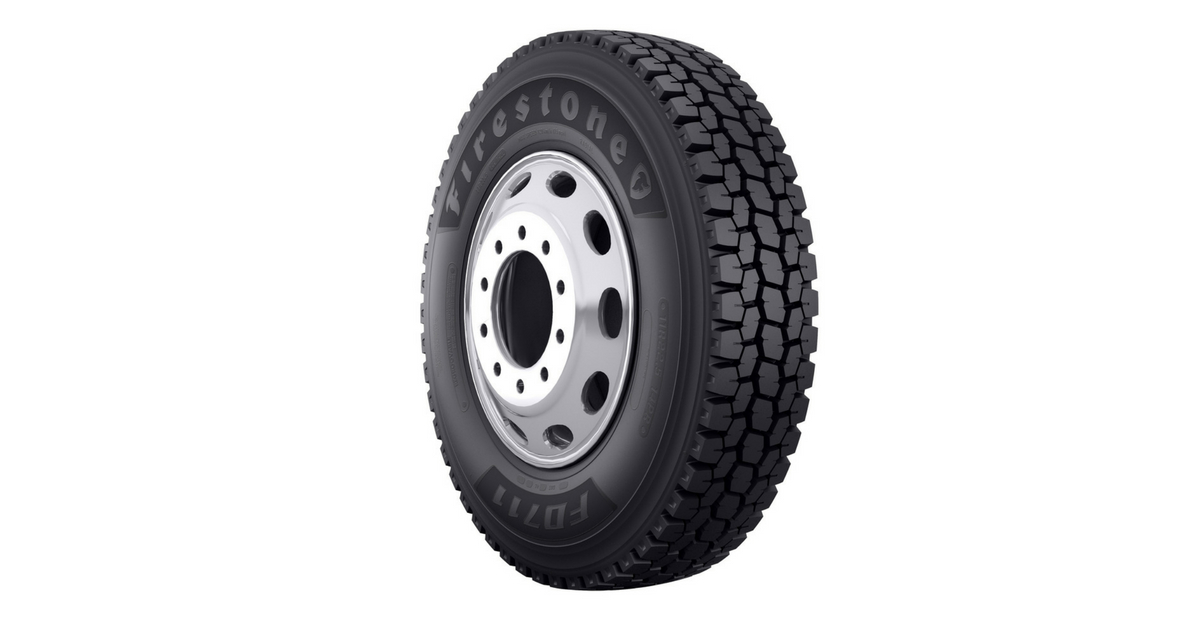 Firestone FD711 tire