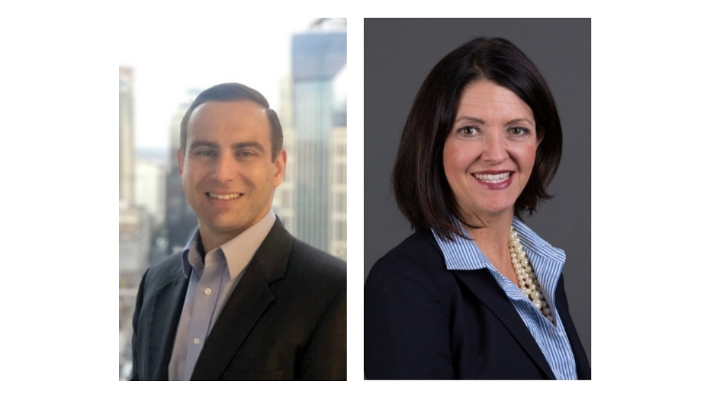 Rob Seibert, Erica Walsh - new sales leaders for Bridgestone Commercial business