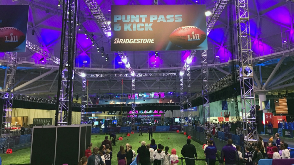 Bridgestone Fan Experience at Super Bowl LII