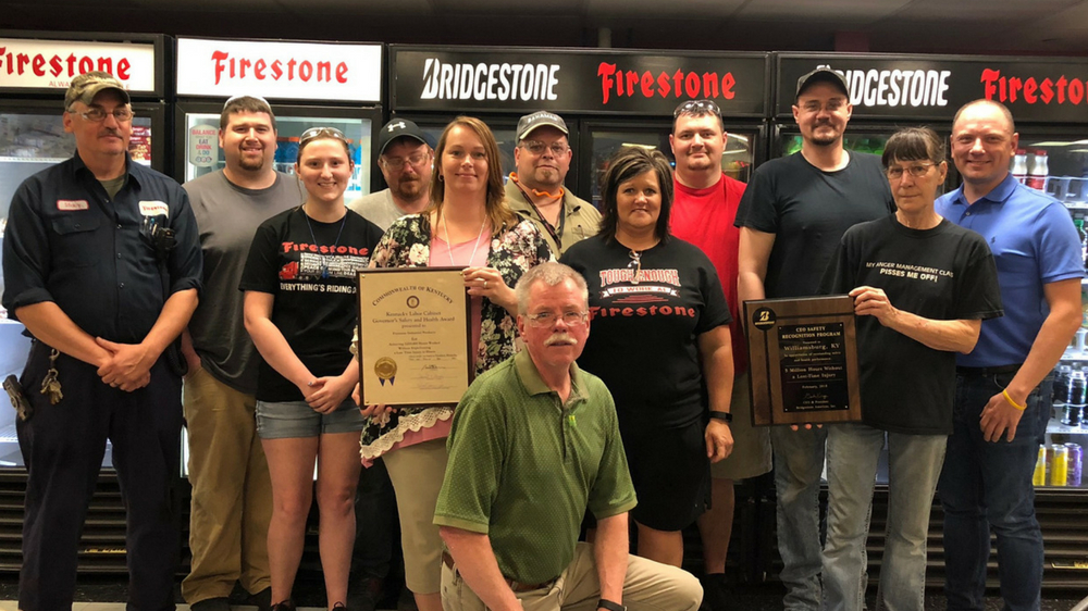 Williamsburg KY Firestone Industrial Products plant teammates
