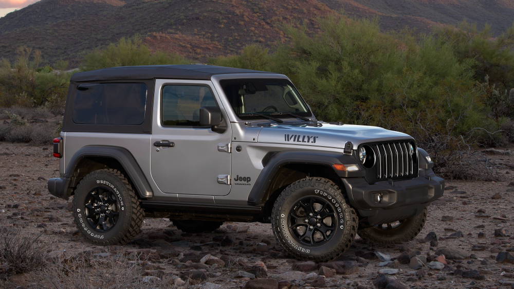 2020 Jeep Wrangler with Firestone Destination M/T2 tires