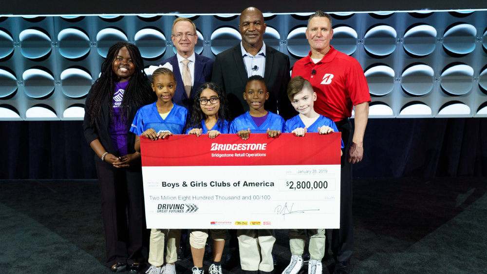Boys and Girls clubs of America Bridgestone Retail Operations