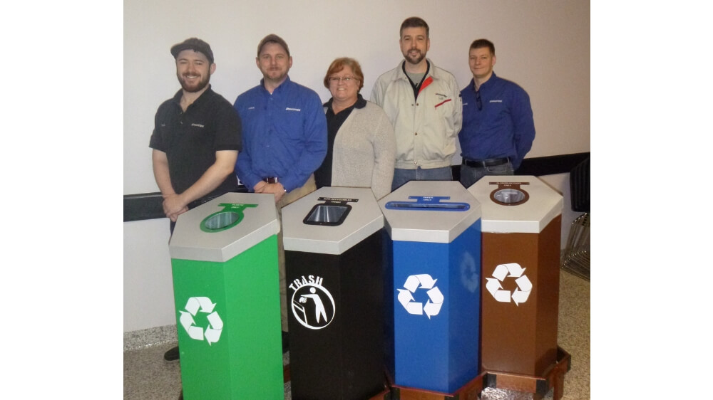 Bridgestone Recognized for Waste Reduction and Recycling