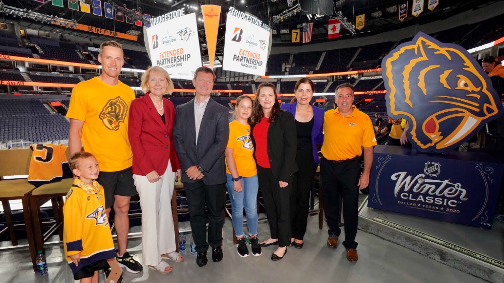 Bridgestone Americas extends naming rights for Bridgestone arena