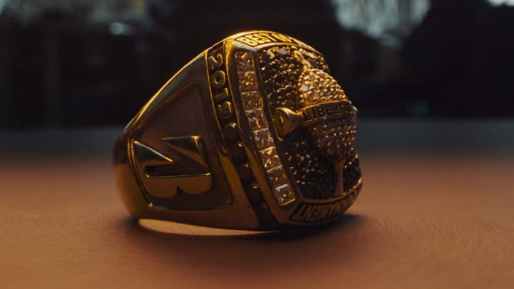 gold and diamond ring to be presented to the winner of the tournament in lima, peru