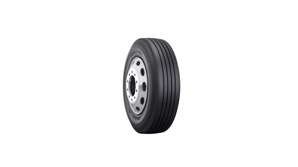 Bridgestone Ecopia fuel-efficient trailer tire for commercial trucks