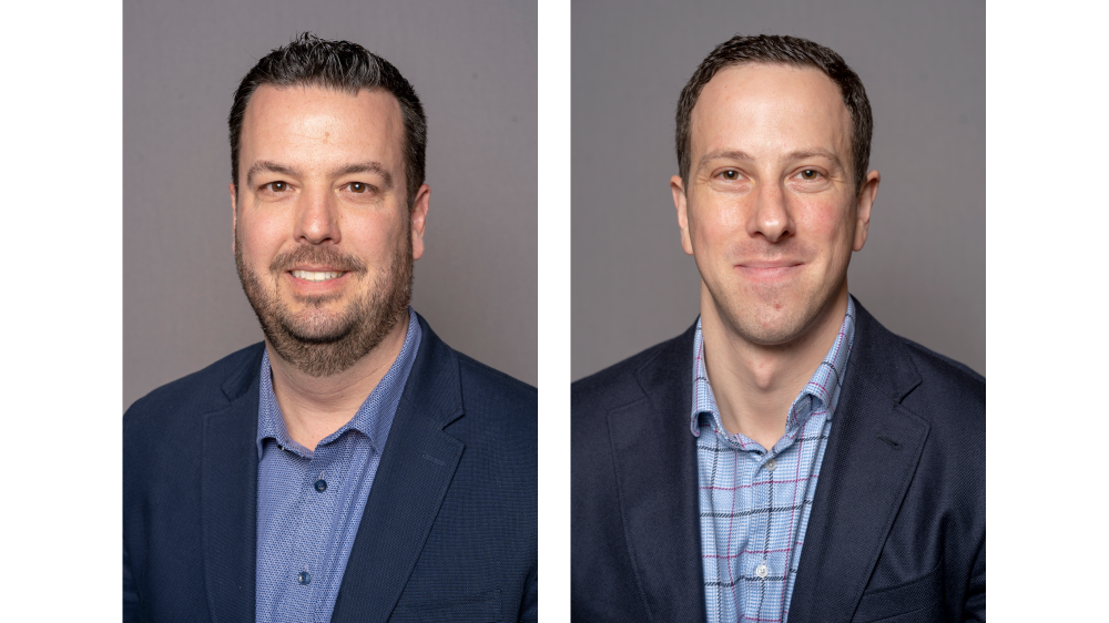 Justin Monaghan and Ben Rosenblum of Bridgestone Americas