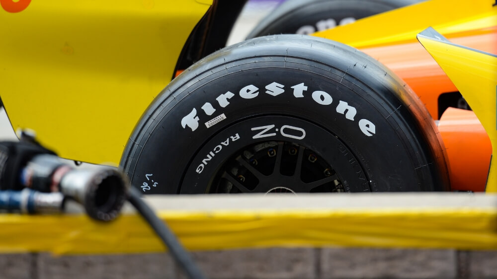 Firestone race tire