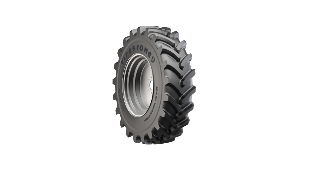 new Firestone Maxi Traction agriculture tire