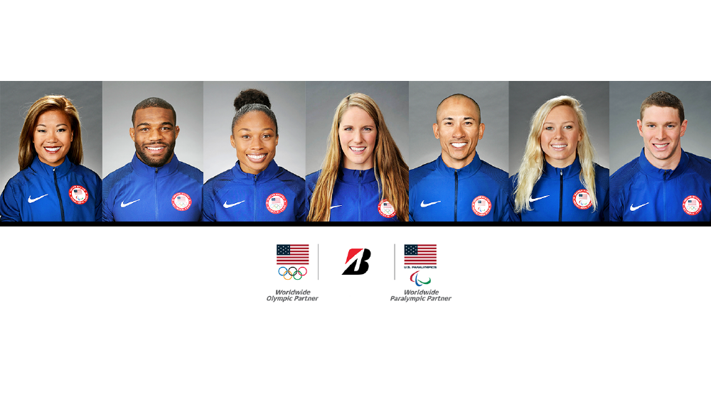 2019 team bridgestone Olympic athletes