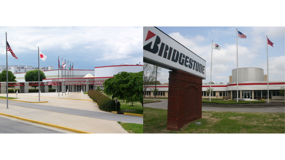 bridgestone Americas tire operations warren county plant and lavergne Tennessee