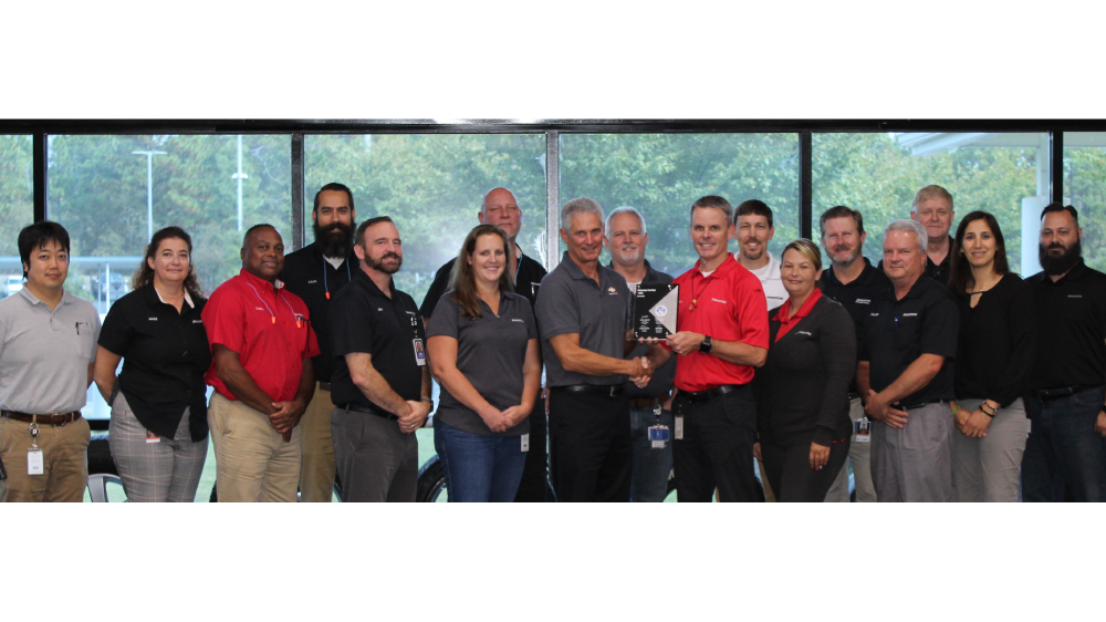 Bridgestone americas aiken sc plant teammates recognized
