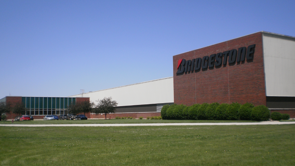 bridgestone plant bloomington Illinois exterior