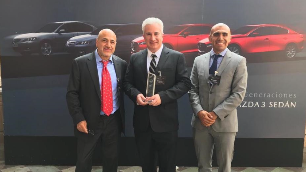 Bridgestone receives award in Mexico