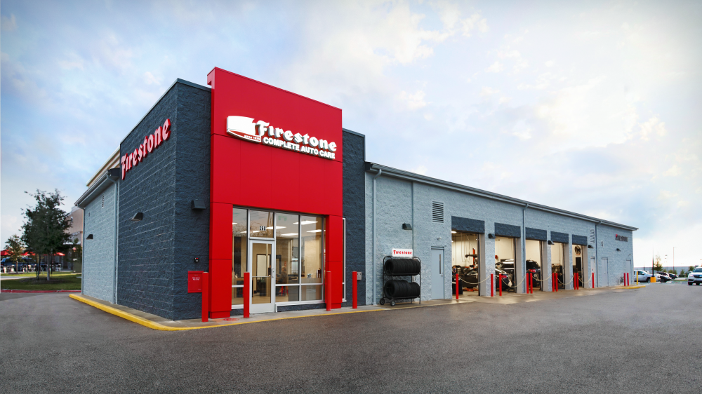 new Firestone complete auto care store concept